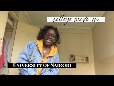 COLLEGE MOVE - IN | UNIVERSITY OF NAIROBI |