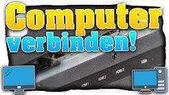PC / Laptop mit dem Fernseher verbinden! Computer Bildschirm auf TV übertragen! | Easy (Tutorial) 🎄