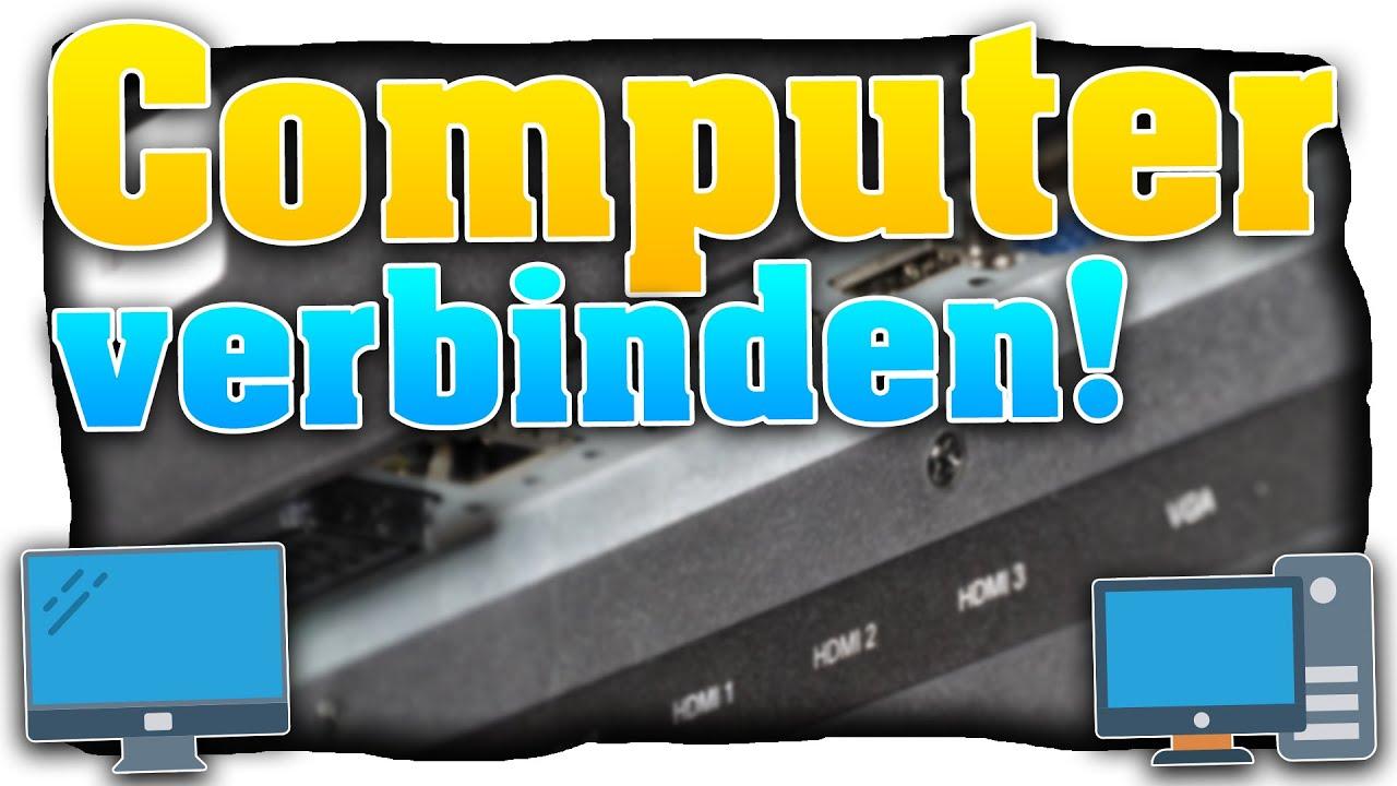 PC / Laptop mit dem Fernseher verbinden! Computer ...