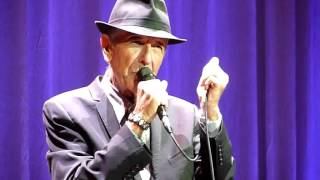 Leonard Cohen - Save The Last Dance For Me - Vector Arena, Auckland - 21-12-2013