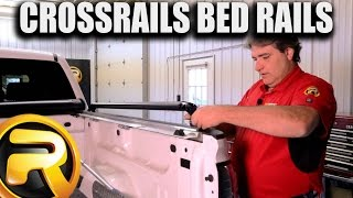How To Install Putco Crossrails Oval Truck Bed Rails