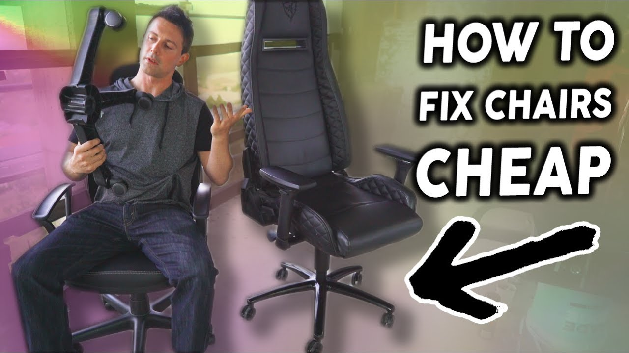 Awesome Computer Chair Repair