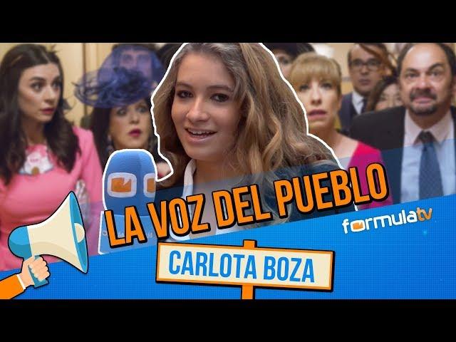 La voz del pueblo con Carlota Boza: Así acabará LA QUE SE AVECINA según los fans
