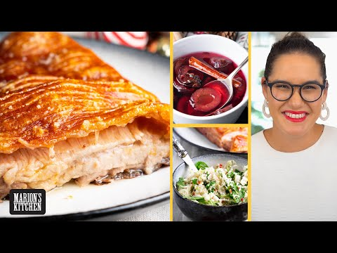 🎄All I want for Christmas is... slow-roasted pork & spiced plum sauce | Marion's Kitchen