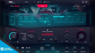 Free VST Plugin | Carbon by UJAM | Electric Guitar VSTi Instrument Tutorial Review of Key Features