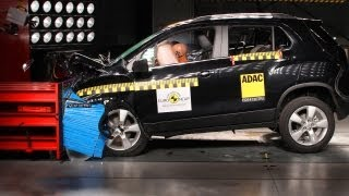 Chevrolet Trax EuroNCAP Crashtest 2013