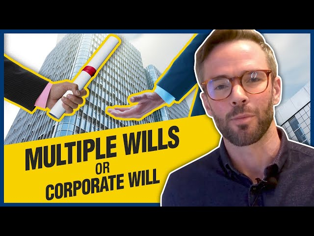 Corporate Wills | Save Money On Probate Fees!