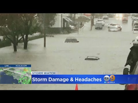 Floodwaters Gush Into Orange County Businesses, Cause Substantial Damage