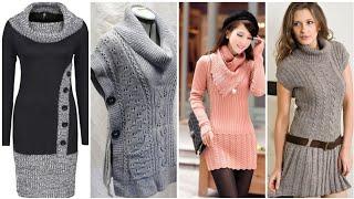 New Beautiful stylish wool sweater designs 2018 || sweaters renewing trick