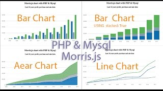 How to Create Charts and Graphs Using MySQL, PHP, Morris.js Tutorial