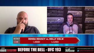 Before the Bell with Nick Kalikas and Frank Trigg Interviews - UFC 193