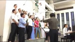 Màn Đêm Tỏa Lan - Cổ điệu Pháp - Lời Việt Lm  Kim Long - Ca đoàn Cecilia Kẻ Sặt