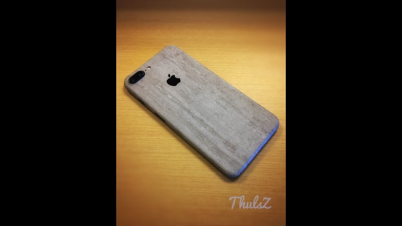Iphone 7 Plus On Dbrand Skin Concrete Youtube