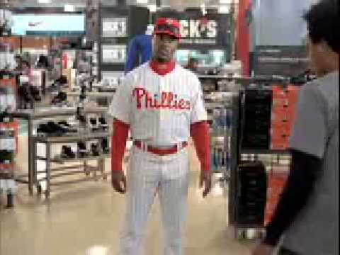 Dick's Sporting Goods- Jimmy Rollins