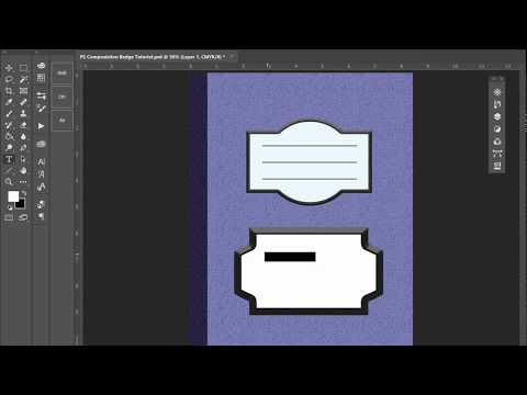 Selection Modes for Custom Badges Tutorial in Adobe Photoshop for KDP thumbnail
