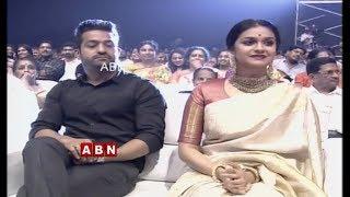 JR NTR Grand Entry at Mahanati Movie Audio Launch | Keerthy Suresh | Vijay Devarakonda | ABN Telugu