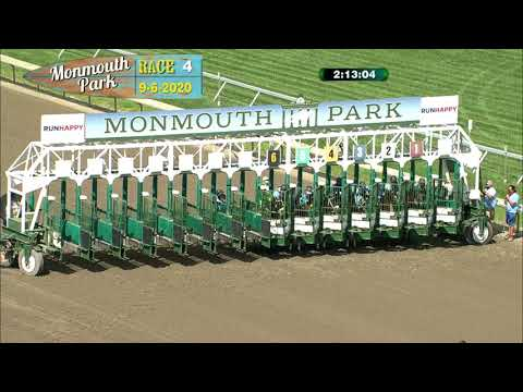 video thumbnail for MONMOUTH PARK 09-06-20 RACE 4