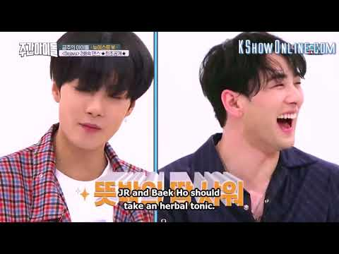 NU'EST W WEEKLY IDOL 2018 FULL ENG SUB