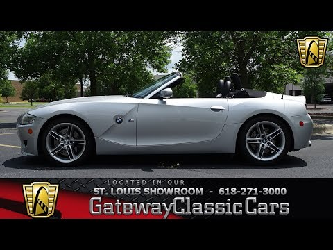 2006 BMW Z4 M Roadster Stock #7761 Gateway Classic Cars St. Louis Showroom