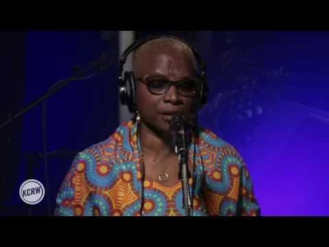 "Angélique Kidjo performing ""Blewu"" Live on KCRW"