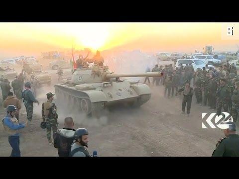 Mossul-Offensive: Bodycams zeigen Kampf um Dörfer