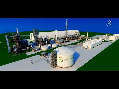 thyssenkrupp builds major fertilizer plant in Brunei