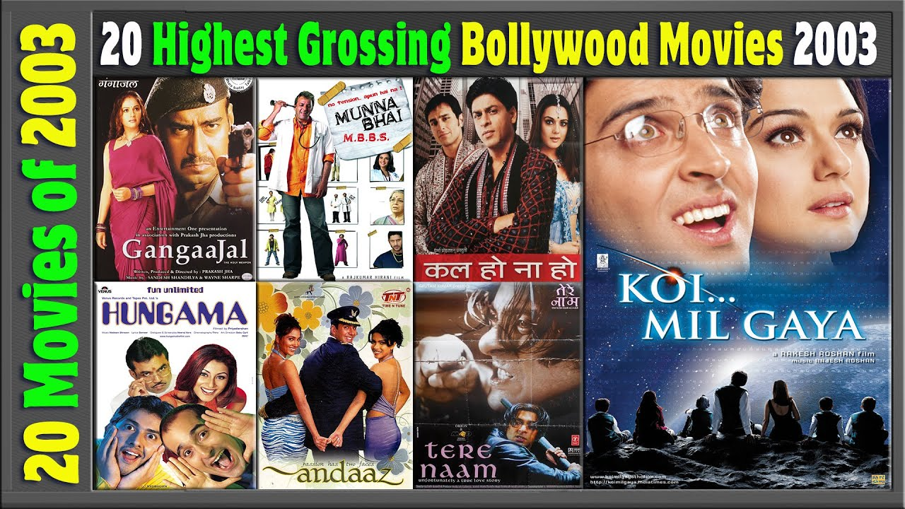 Top 20 Bollywood Movies Of 2003 | Hit or Flop | 2003 की ...