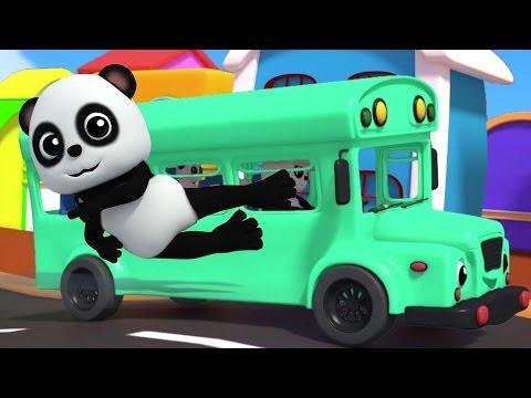 ล้อบนรถบัส   เด็กบ๊องสำหรับเด็ก   เพลงสำหรับเด็ก   Nursery Rhyme   Bao Panda    Wheels On The Bus