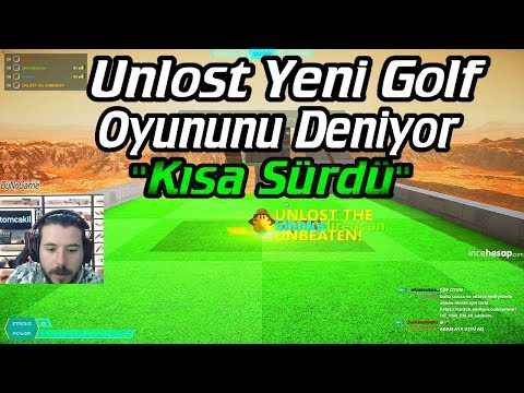 KISA SÜRDÜ - UNLOST EKİPLE YENİ GOLF OYUNUNU DENİYOR BALLISTIC MİNİ GOLF (19.02.2018)