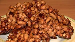 Козинаки из арахиса к пиву / Рецепты простых закусок