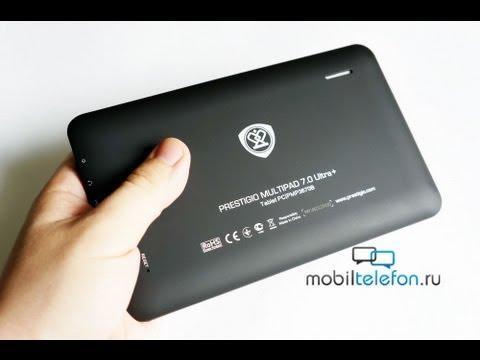 Обзор планшета Prestigio MultiPad 7.0 Ultra+ за 2990 рублей