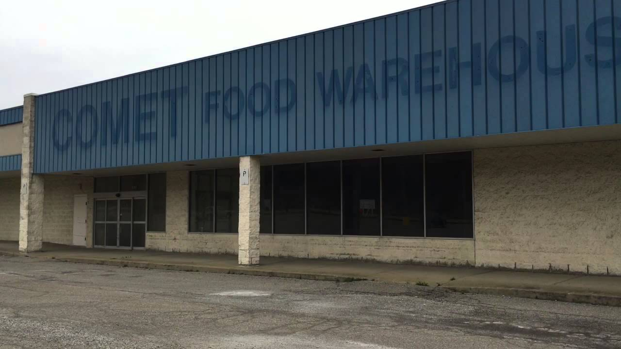 comet food warehouse abandoned grocery store for 20