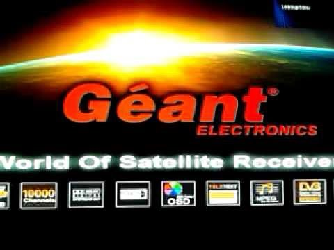 flash demo geant 2500hd hybrid