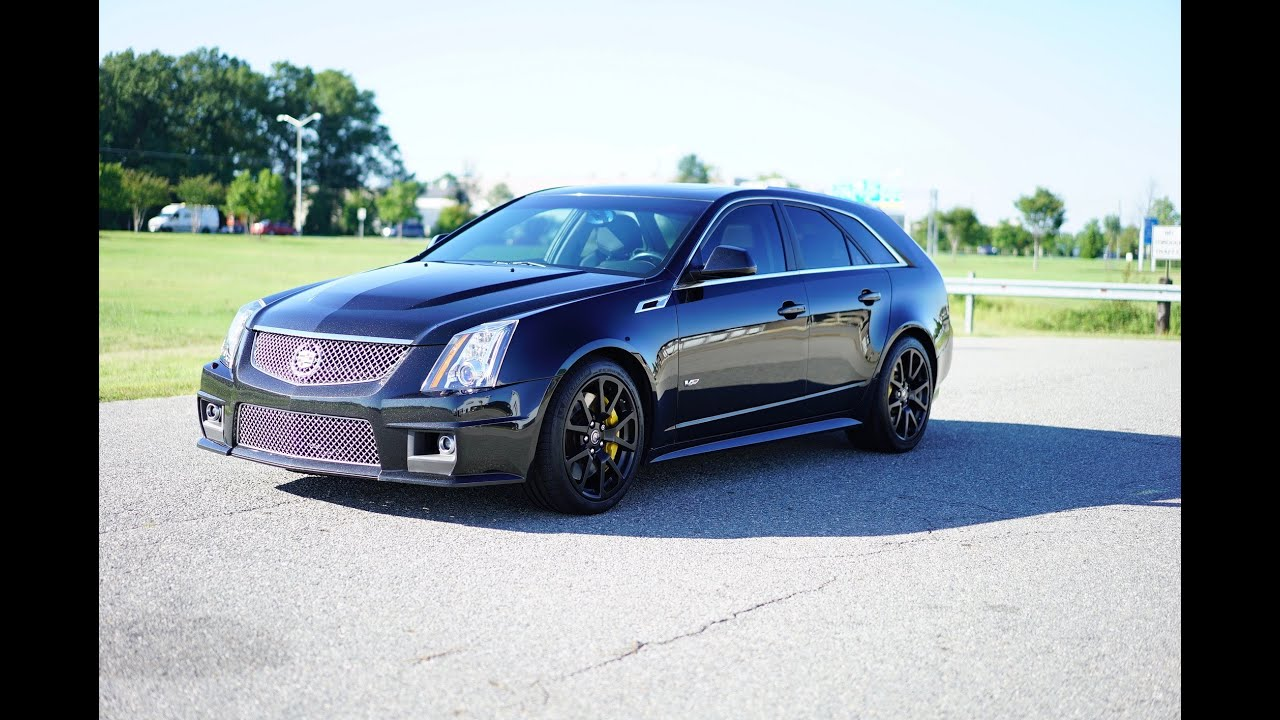 davis autosports cts v wagon supercharged for sale youtube. Black Bedroom Furniture Sets. Home Design Ideas