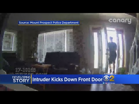 Mount Prospect Residents Concerned After Home Invasion Caught On Camera