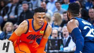 Oklahoma City Thunder vs Minnesota Timberwolves - Highlights | April 7, 2019 | 2018-19 NBA Season