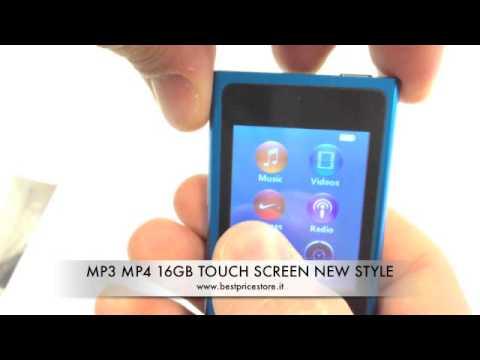 de7fde5a83e MP3 MP4 New Style 16GB Touch Screen - YouTube