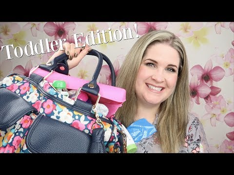 What's In My Itzy Ritzy Diaper Bag | Toddler Edition