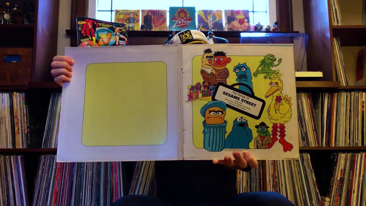 The Shazzbots! - Cap's Listening Corner - Sesame Street Book and Record