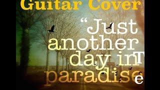 """Another Day In Paradise"" Phil Collins - Instrumental Guitar Cover"