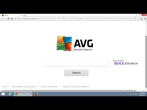 How to remove AVG Secure Search toolbar from your browser Tutorial