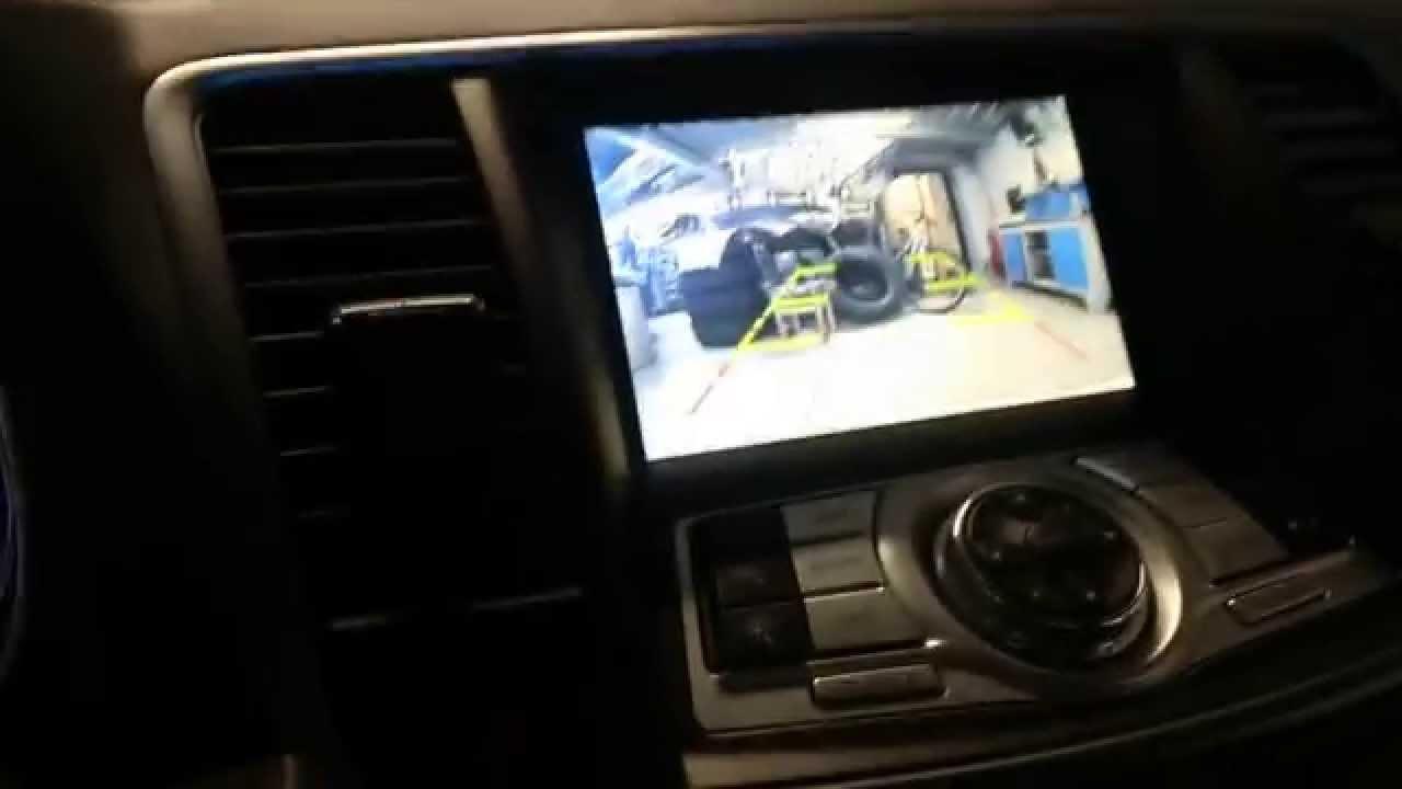 Nissan Infiniti – организация переключения видео входов (video aux) c руля. www.xanavi.ru