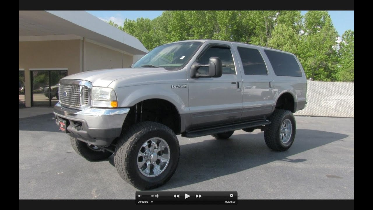 Ford Excursion XLT L Turbo Diesel Start Up Exhaust And - 2002 excursion