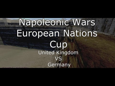 Napoleonic Wars: United Kingdom VS German - European Nations Cup