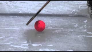 Техника выполнения удара нажимом. Пособие по хоккею с мячом ИФКСиЗ САФУ
