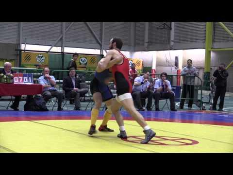 2014 Senior Greco-Roman National Championships: 65 kg Joseph Dashou vs. Jory Wutzke