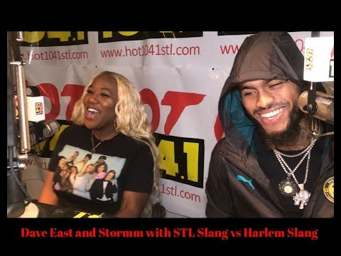 Dave East And Stormm With Harlem VS Saint Louis Slang