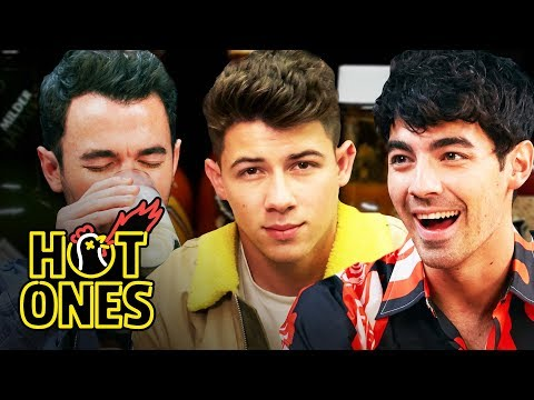 EJ - Hot Ones Hosted The Jonas Bros for Its Ninth Season Premiere