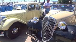 anciennes voitures à Sainte Maxime juin 2018