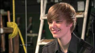 Justin Bieber Interview with 11 Years old Girl [fake]